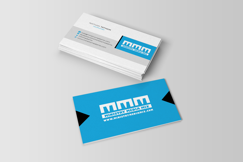 Ministry Media Mix Business Cards